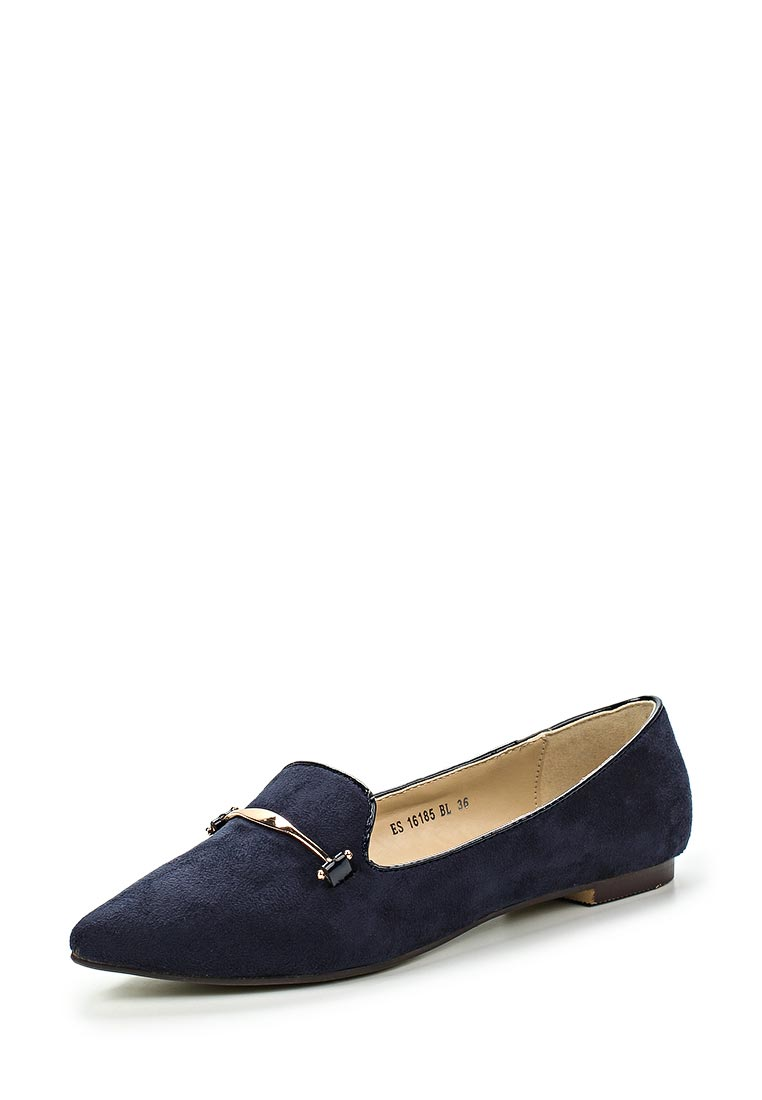 Туфли на плоской подошве Raxmax ES16185BL: изображение 5
