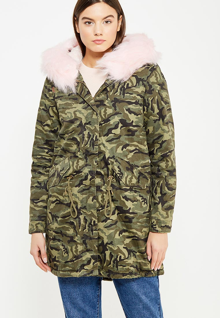 Утепленная куртка Regular B23-MG3173-2
