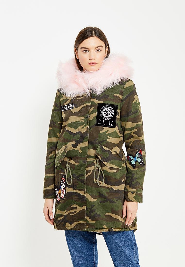 Утепленная куртка Regular B23-MG3175-3