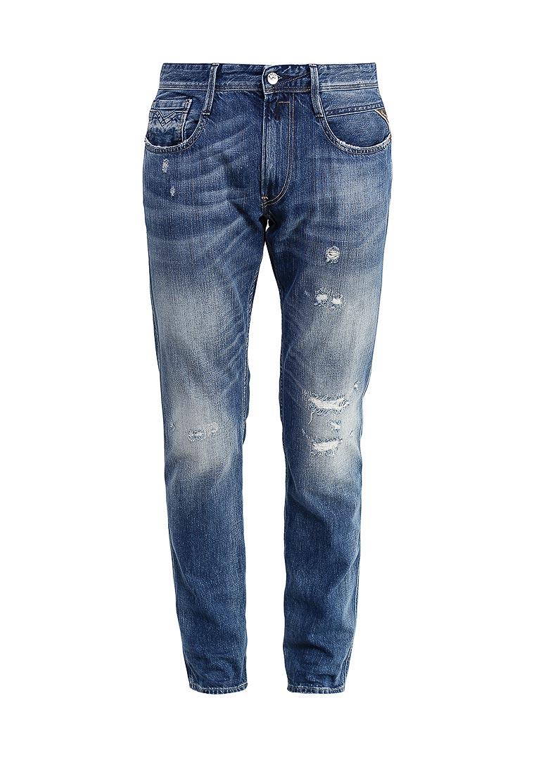 Мужские прямые джинсы Replay (Реплей) M914.000.278724