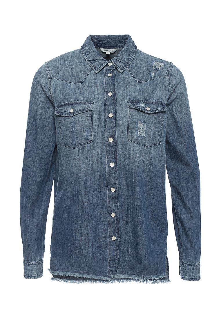 Женские джинсовые рубашки River Island (Ривер Айленд) 690586