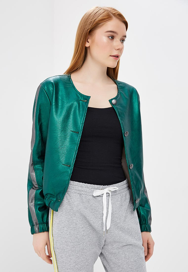 Кожаная куртка Rinascimento CFC0085144003