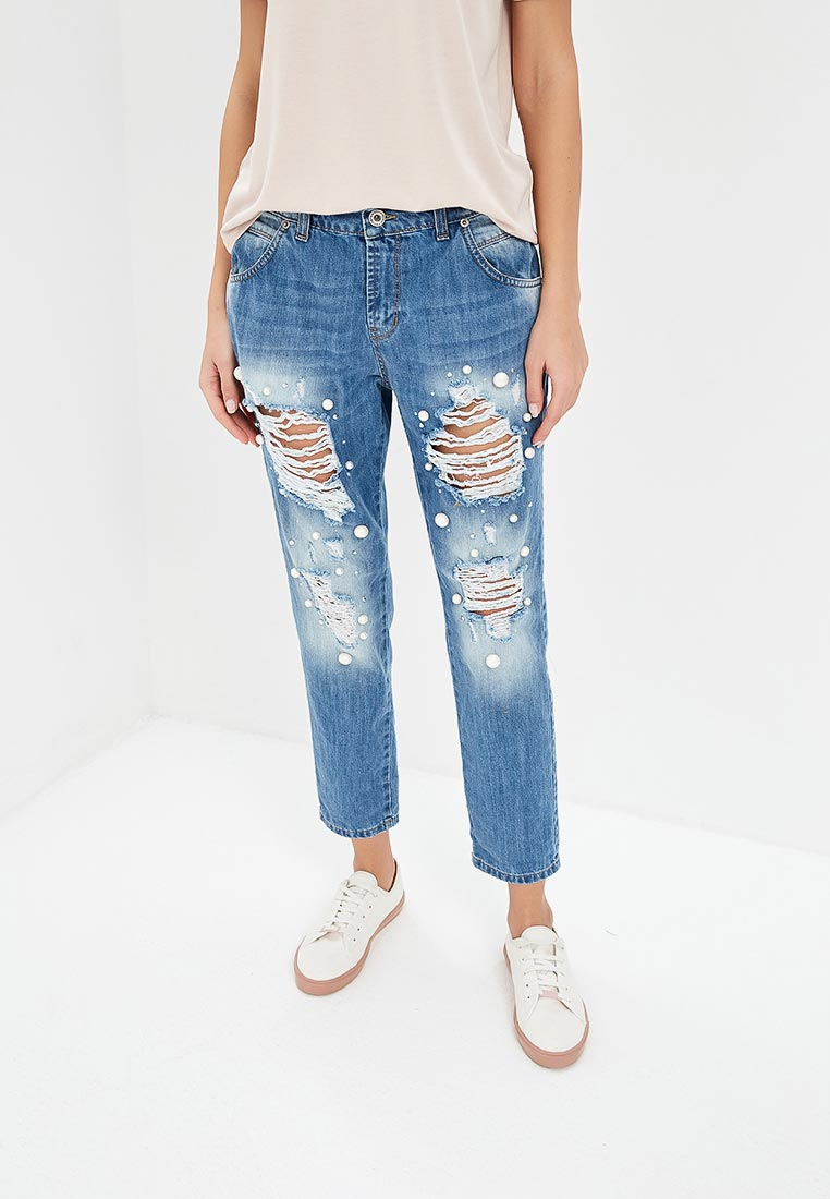 Зауженные джинсы Rinascimento CFC0084661003