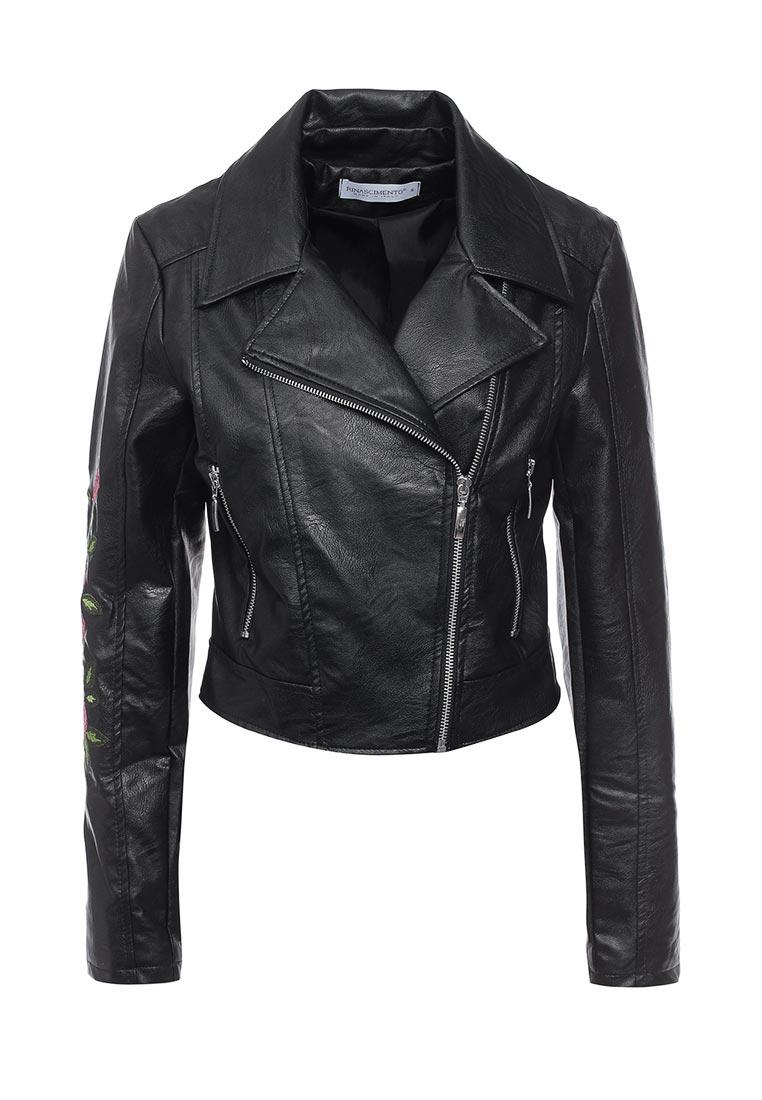 Кожаная куртка Rinascimento CFC0079078003