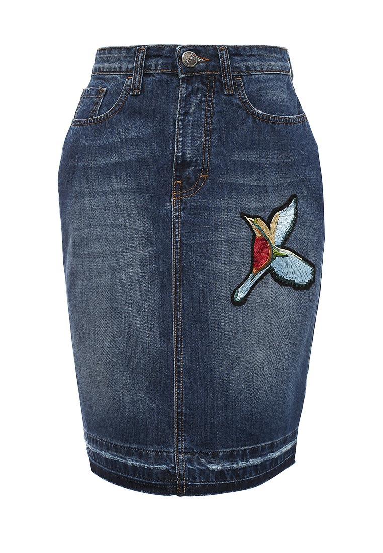 Джинсовая юбка Rinascimento CFC0078490003