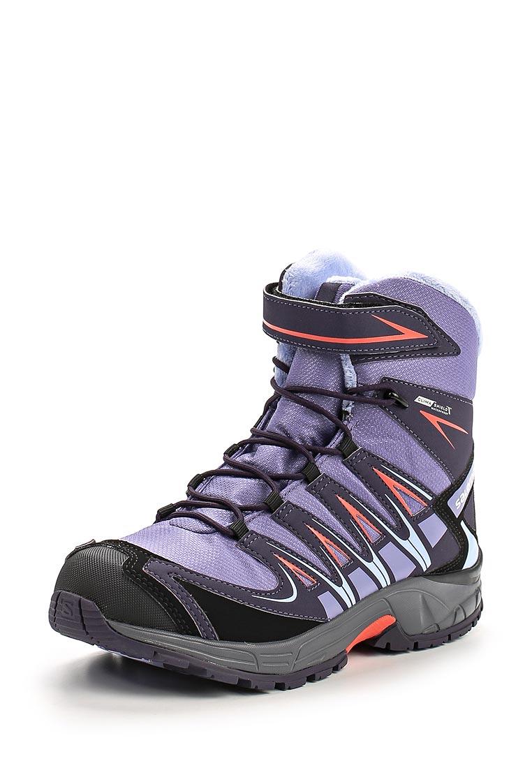 Ботинки для девочек SALOMON (Саломон) L39029100