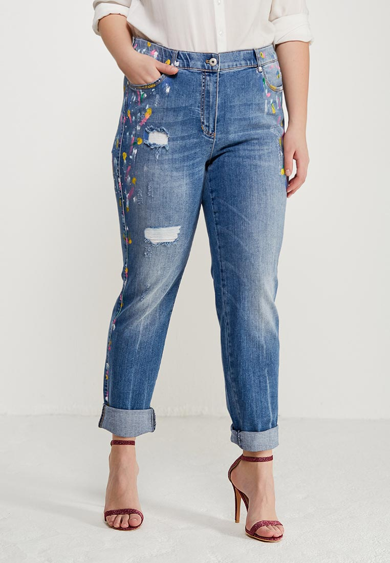 Зауженные джинсы Samoon by Gerry Weber 820156-21012