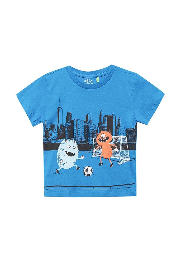 Футболка с коротким рукавом Sela (Сэла) Ts-711/541-8122