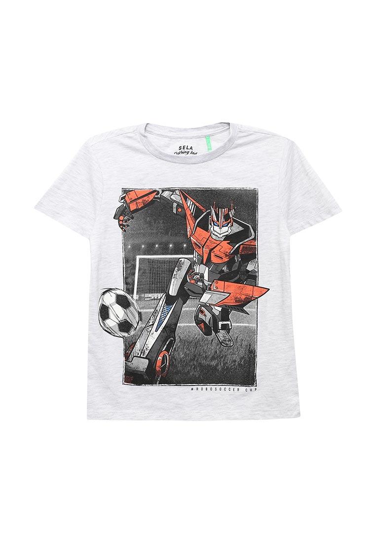 Футболка с коротким рукавом Sela (Сэла) Ts-811/268-8112