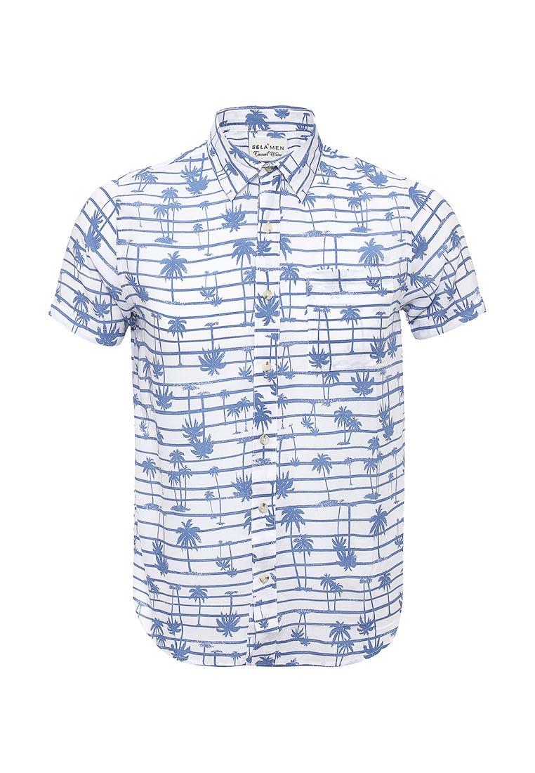 Рубашка с коротким рукавом Sela (Сэла) Hs-212/764-7214