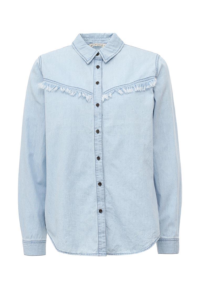 Женские джинсовые рубашки Sela (Сэла) Bj-332/028-7111