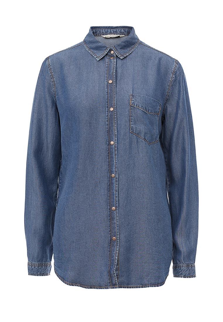 Женские джинсовые рубашки Sela (Сэла) Bj-132/029-7161