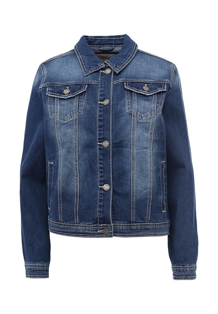 Джинсовая куртка Sela (Сэла) JTj-136/067-7161