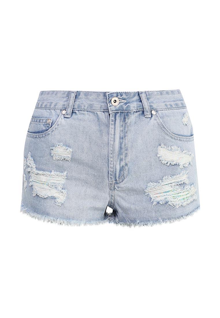 Женские джинсовые шорты Sela (Сэла) SHJ-335/602-7214