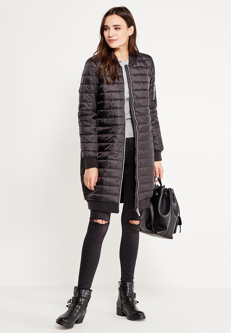 Женские пальто Sela (Сэла) Cep-126/756-7311/черный: изображение 6