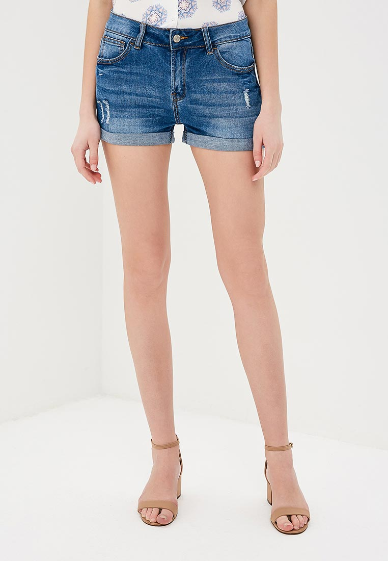 Женские джинсовые шорты Sela (Сэла) SHJ-335/808-8233