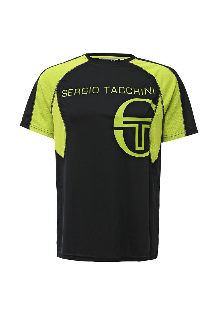 Футболка с коротким рукавом SERGIO TACCHINI TTG01739-BLI_NERO-VERDE
