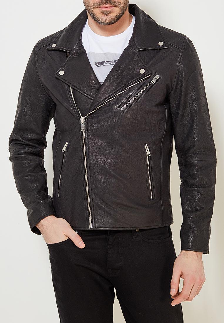 Кожаная куртка Selected Homme 16061150
