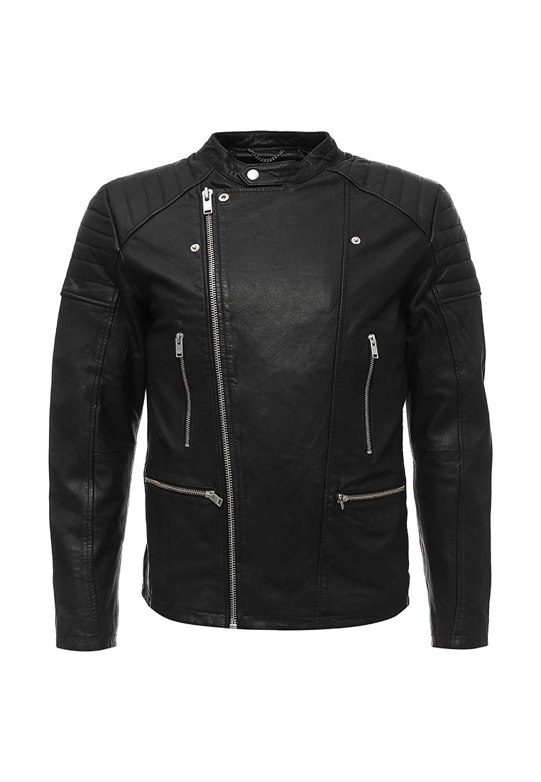 Кожаная куртка Selected Homme 16056360