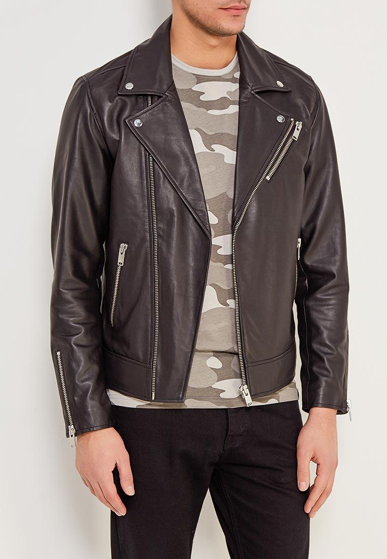 Кожаная куртка Selected Homme 16060117