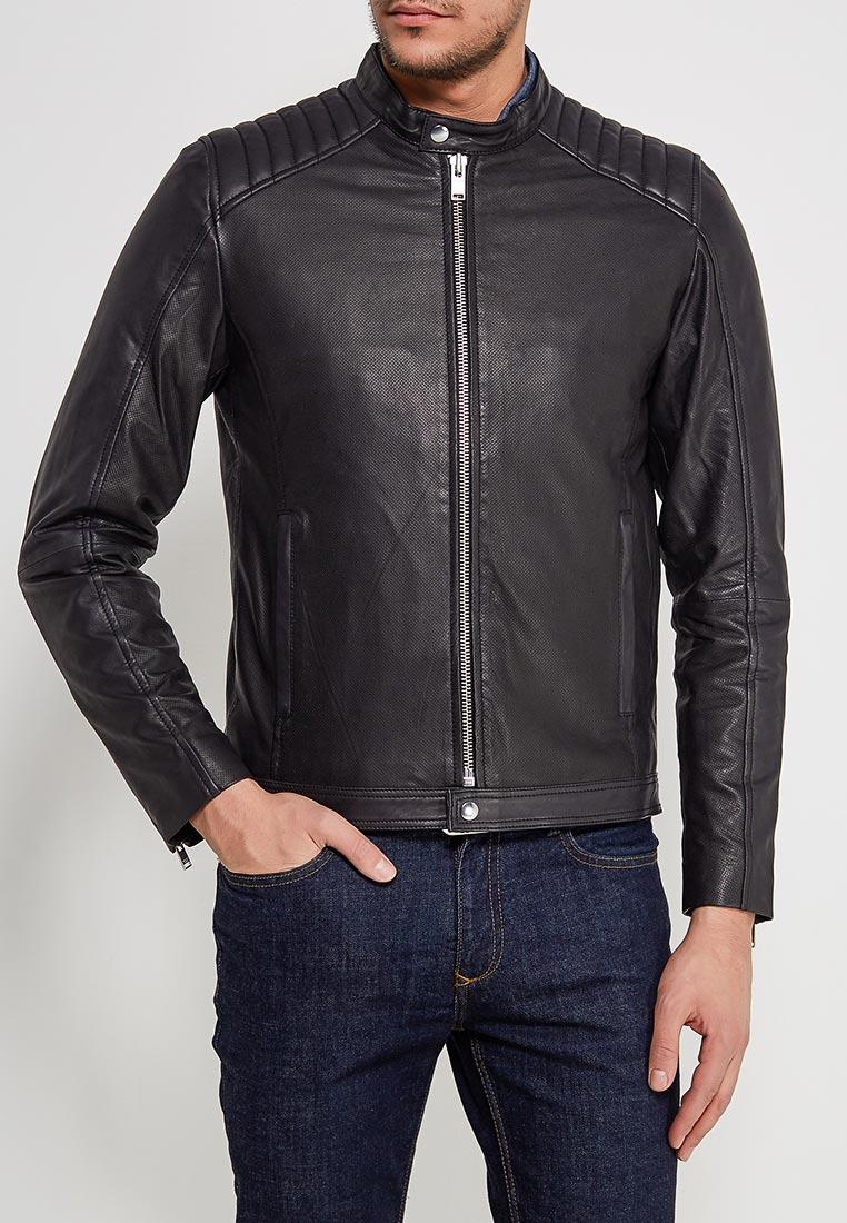 Кожаная куртка Selected Homme 16060119