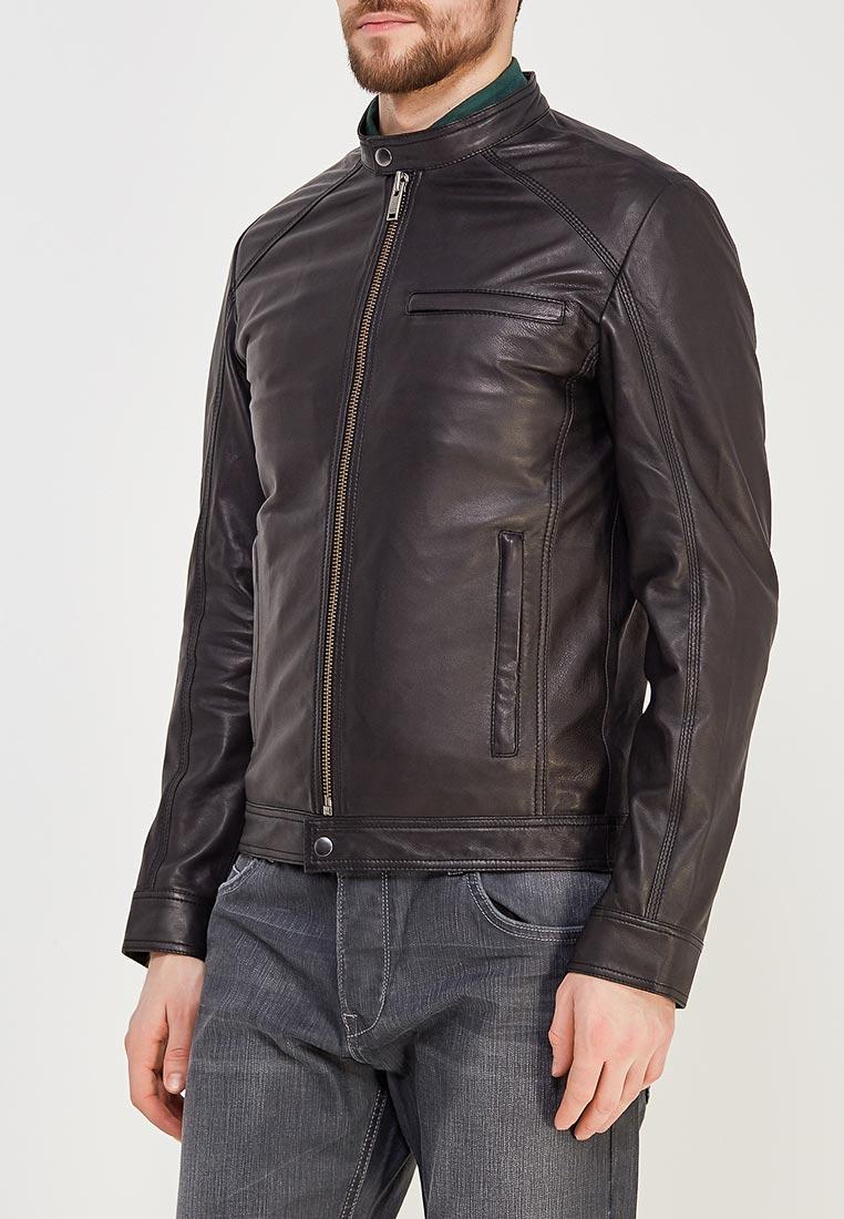 Кожаная куртка Selected Homme 16060120