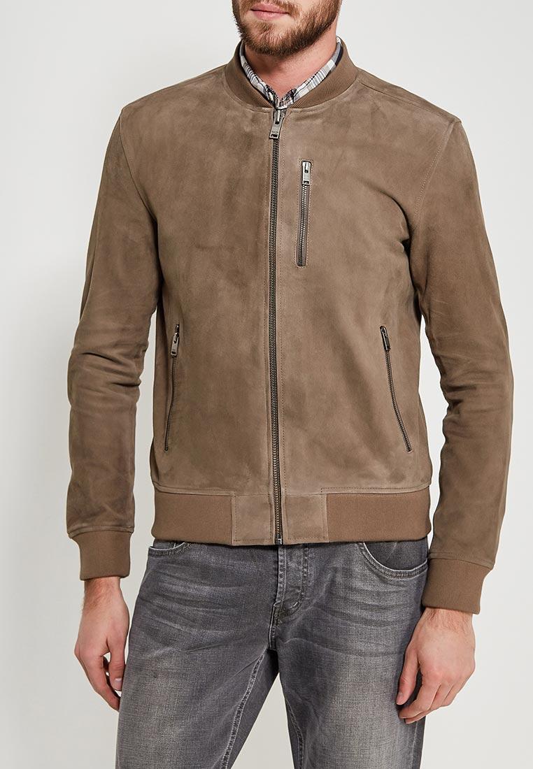 Кожаная куртка Selected Homme 16060125