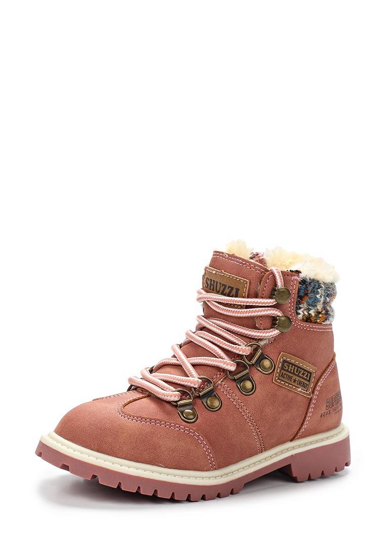Ботинки для девочек Shuzzi 121216005