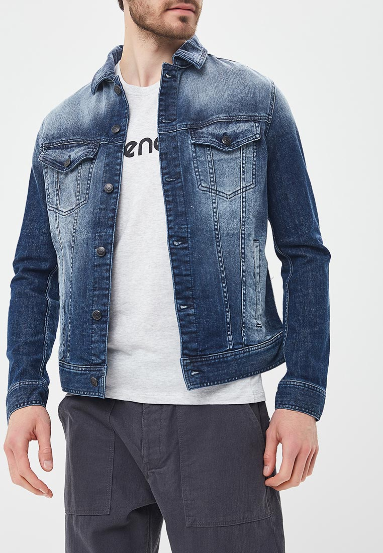 Джинсовая куртка Sisley (Сислей) 2CGP539T9