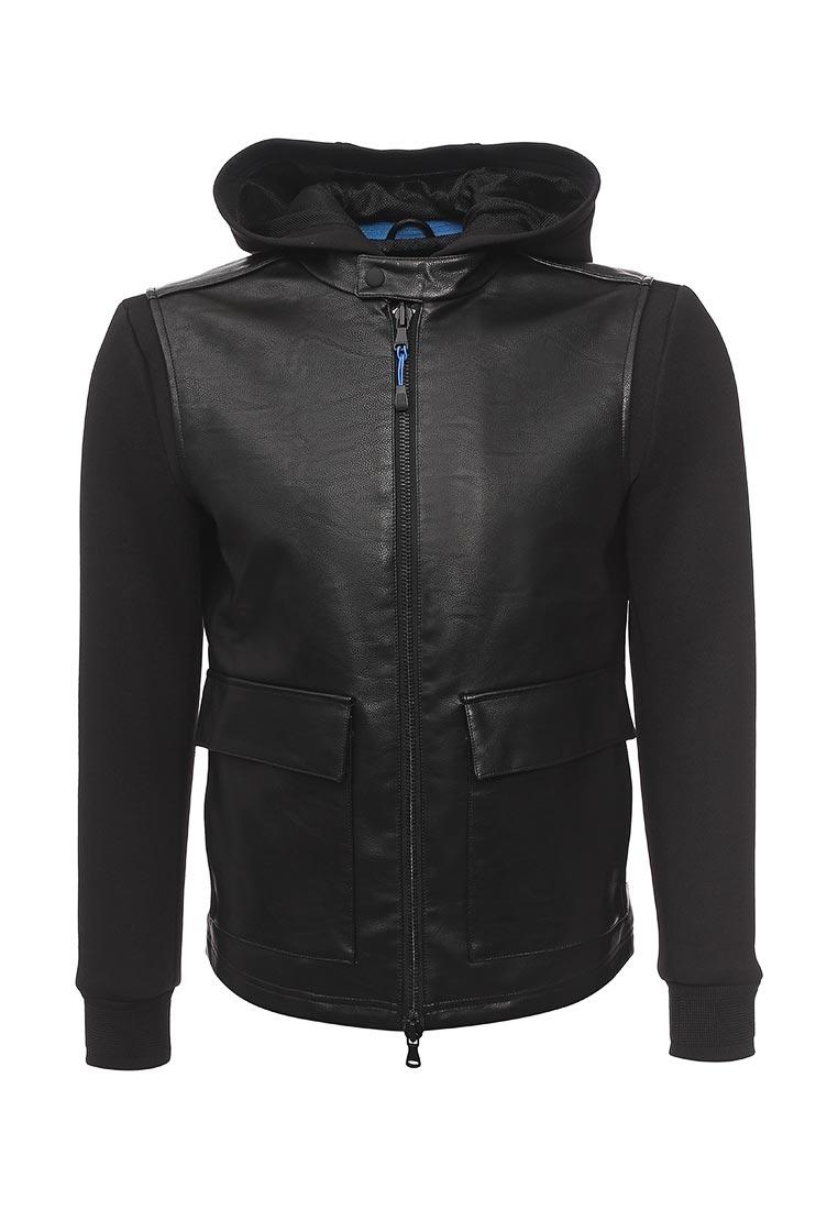 Кожаная куртка Sisley (Сислей) 2OF4537P9