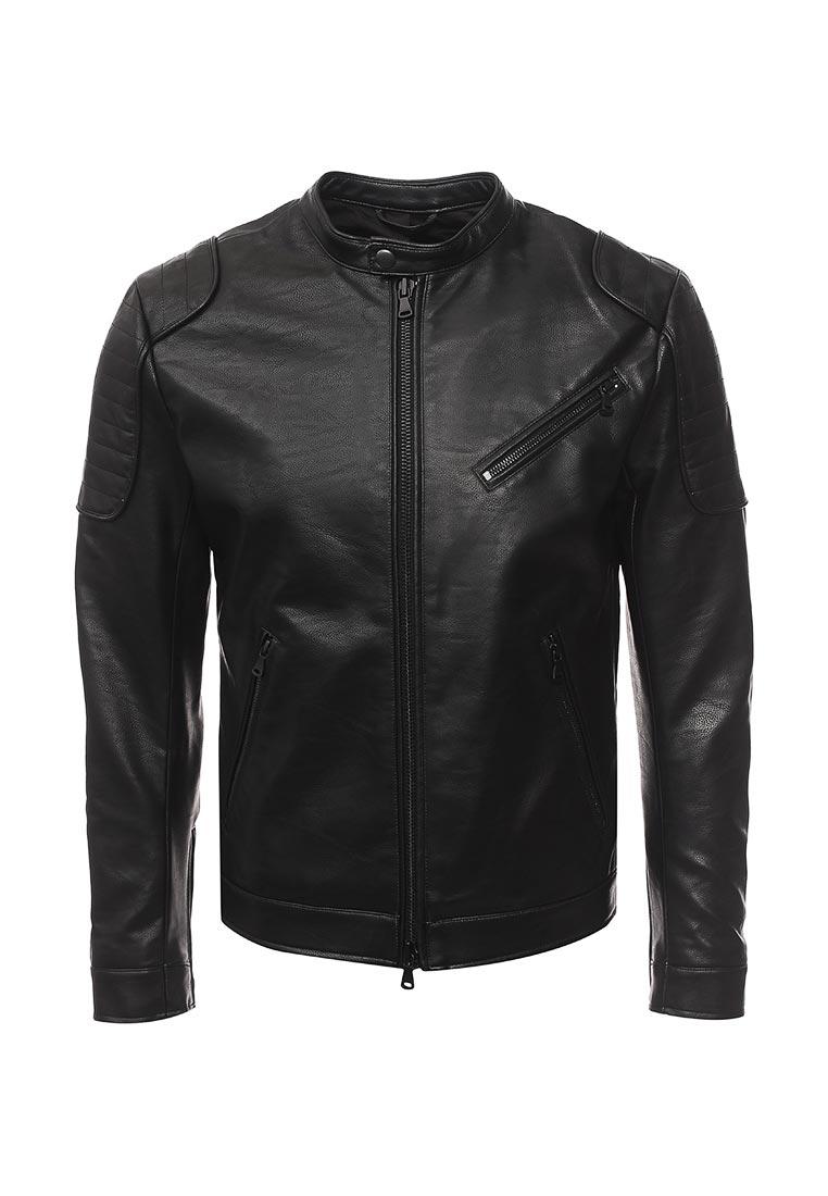 Кожаная куртка Sisley (Сислей) 2OF4538T9