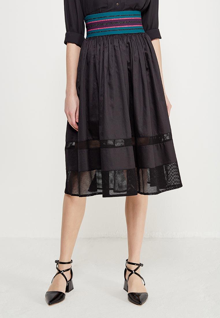 Широкая юбка Sisley (Сислей) 4BZD504K6