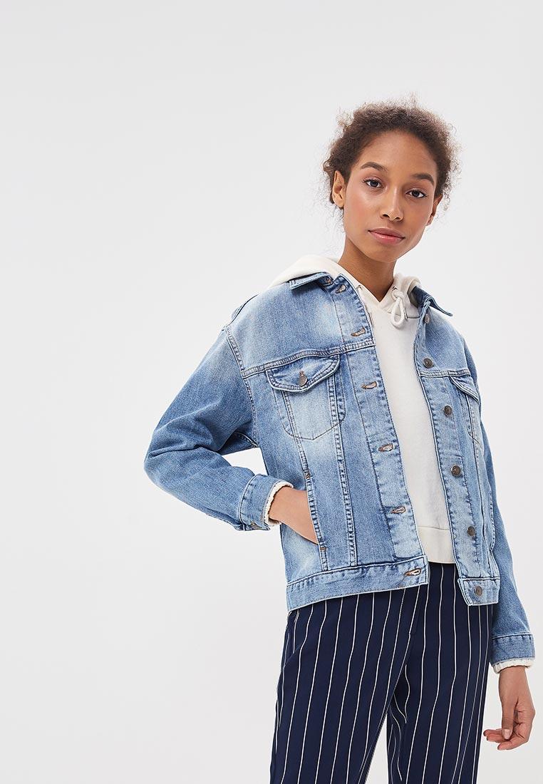 Джинсовая куртка Sisley (Сислей) 2CGP53636