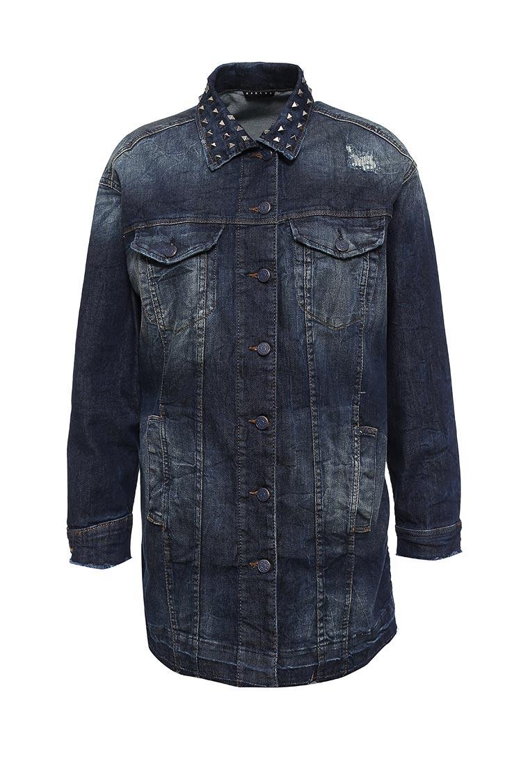 Джинсовая куртка Sisley (Сислей) 2Z9R534R6