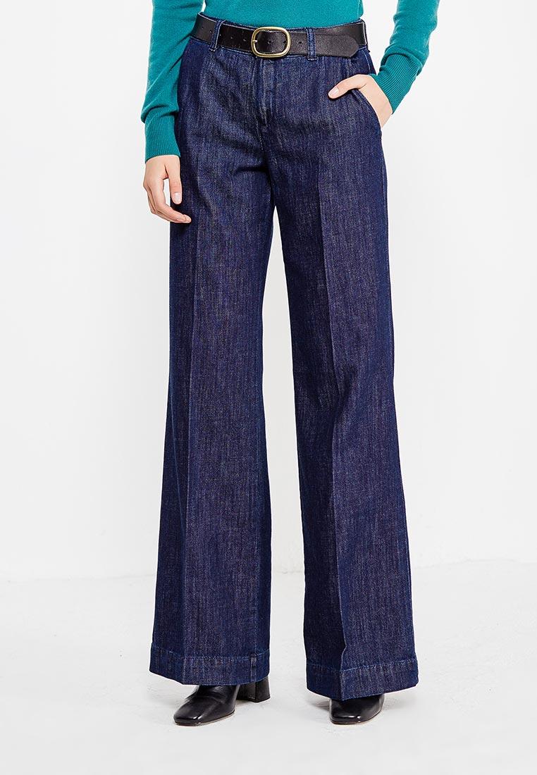 Широкие и расклешенные джинсы Sisley (Сислей) 4I7S557A7