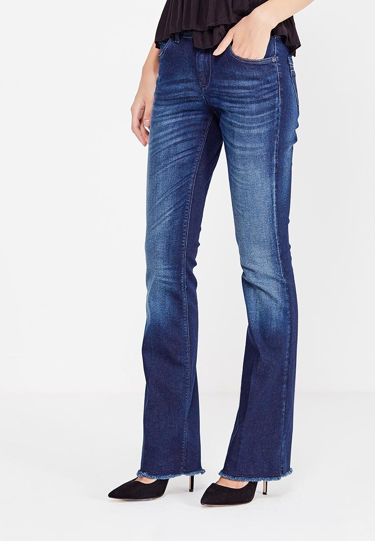 Широкие и расклешенные джинсы Sisley (Сислей) 4I3A573V6