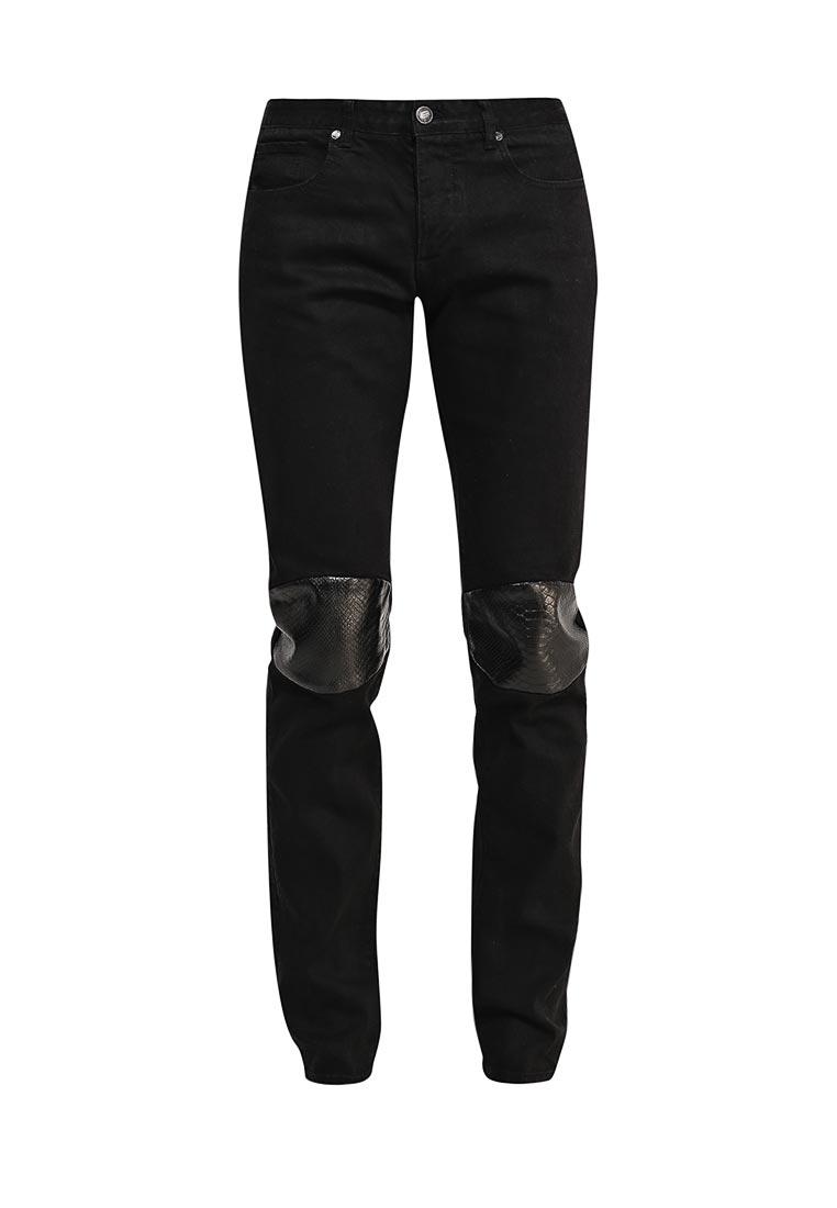 Зауженные джинсы Sixth june 1308-022KD noir