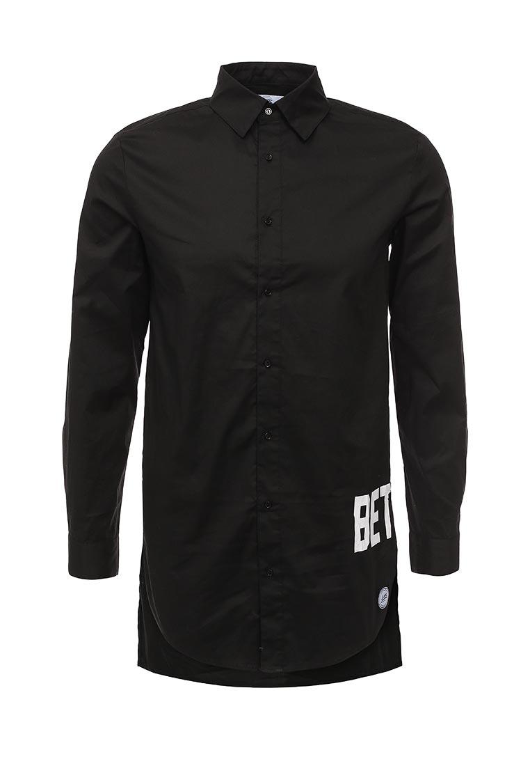 Рубашка с длинным рукавом Sixth june M1388VSH noir