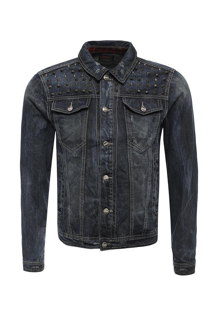 Джинсовая куртка Sixth june KV127696 Noir
