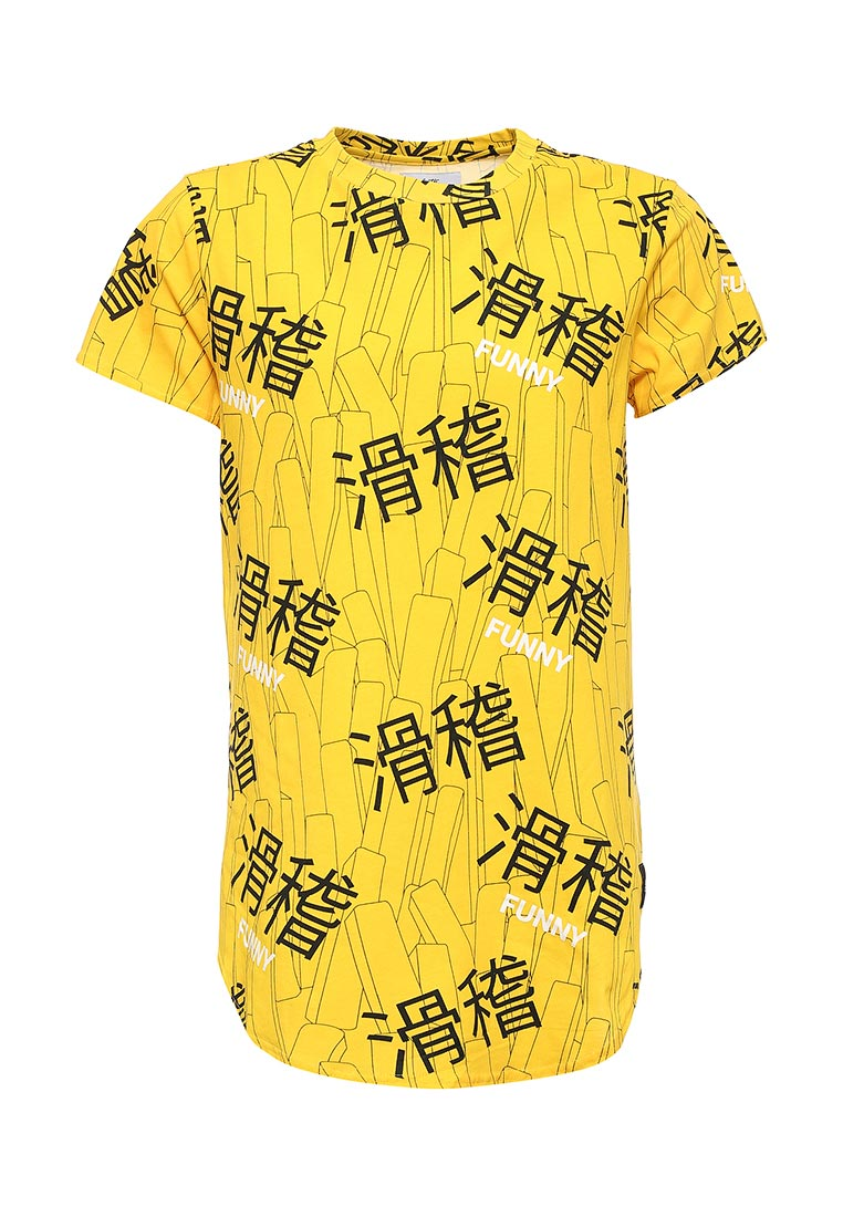 Футболка с коротким рукавом Sixth june M1805VTS yellow