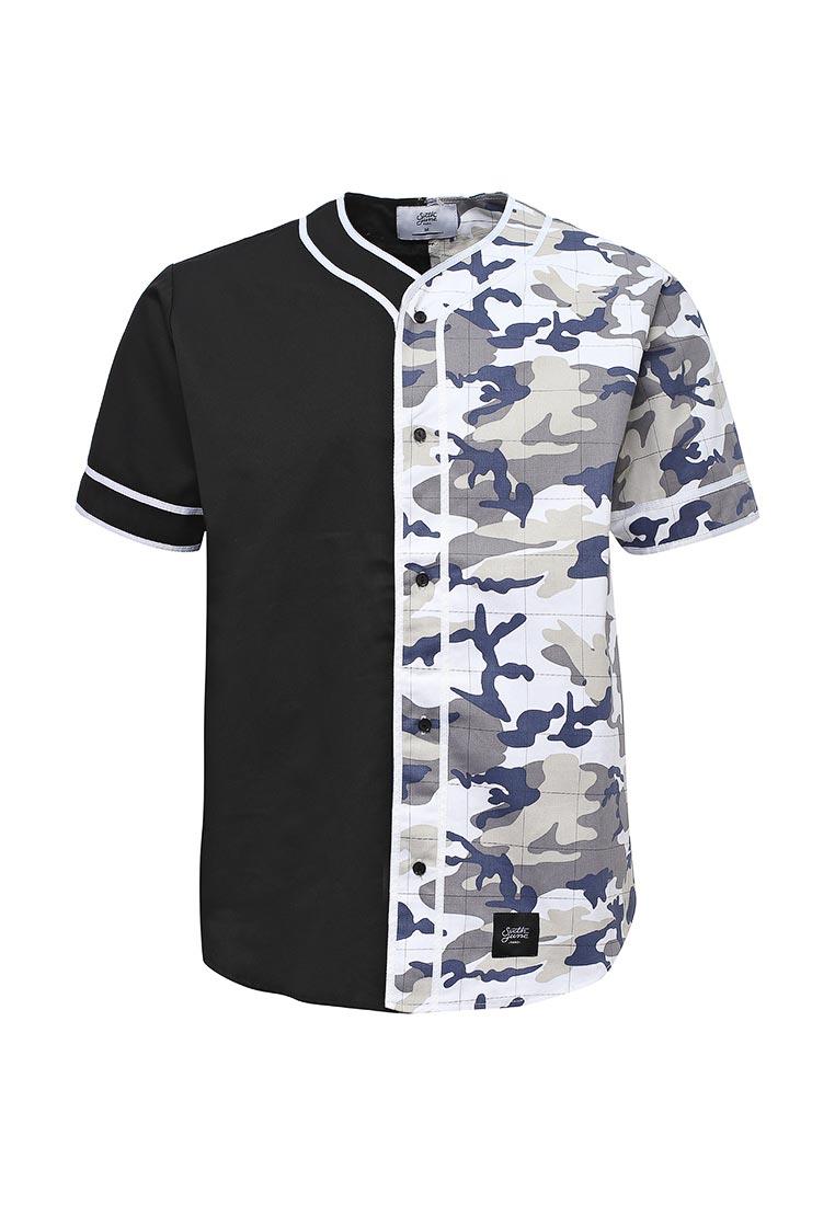 Рубашка с коротким рукавом Sixth june M1811VSW Blanc