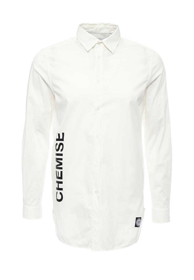 Рубашка с длинным рукавом Sixth june M1391CSH Blanc