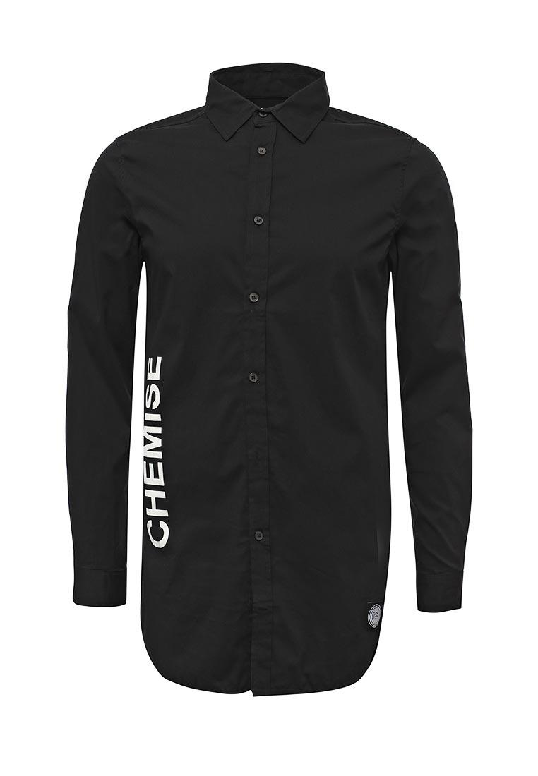 Рубашка с длинным рукавом Sixth june M1391CSH Noir