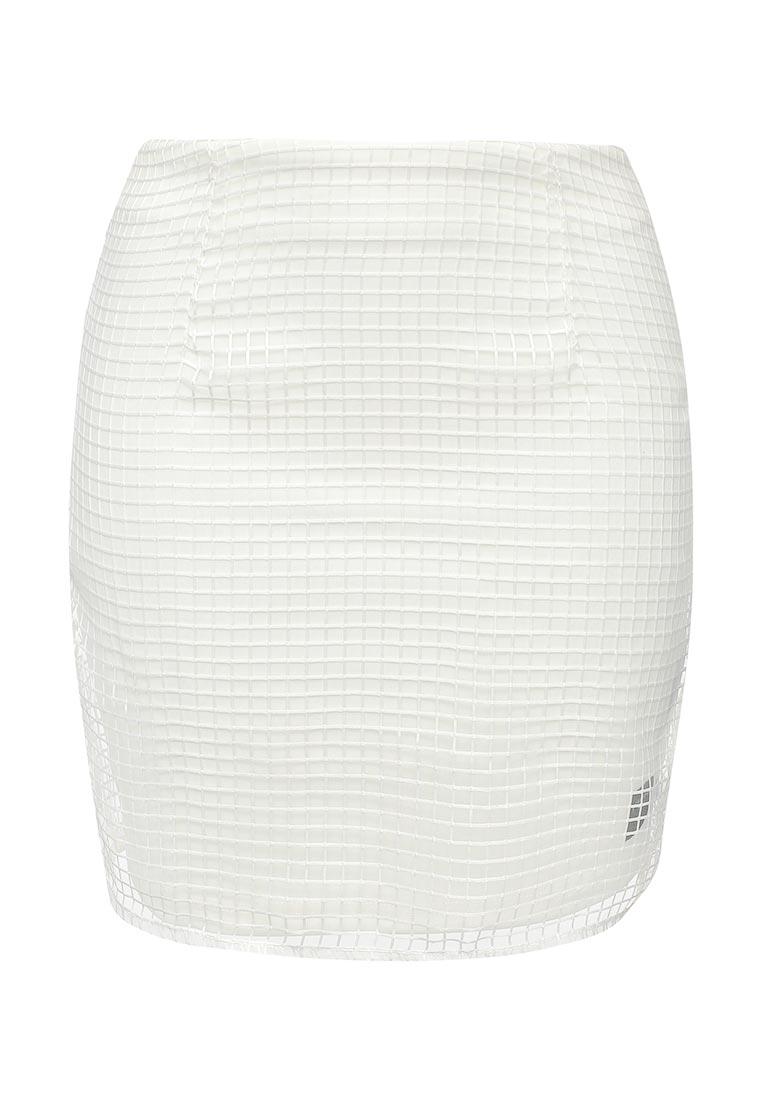 Прямая юбка Sixth june W1202V Blanc