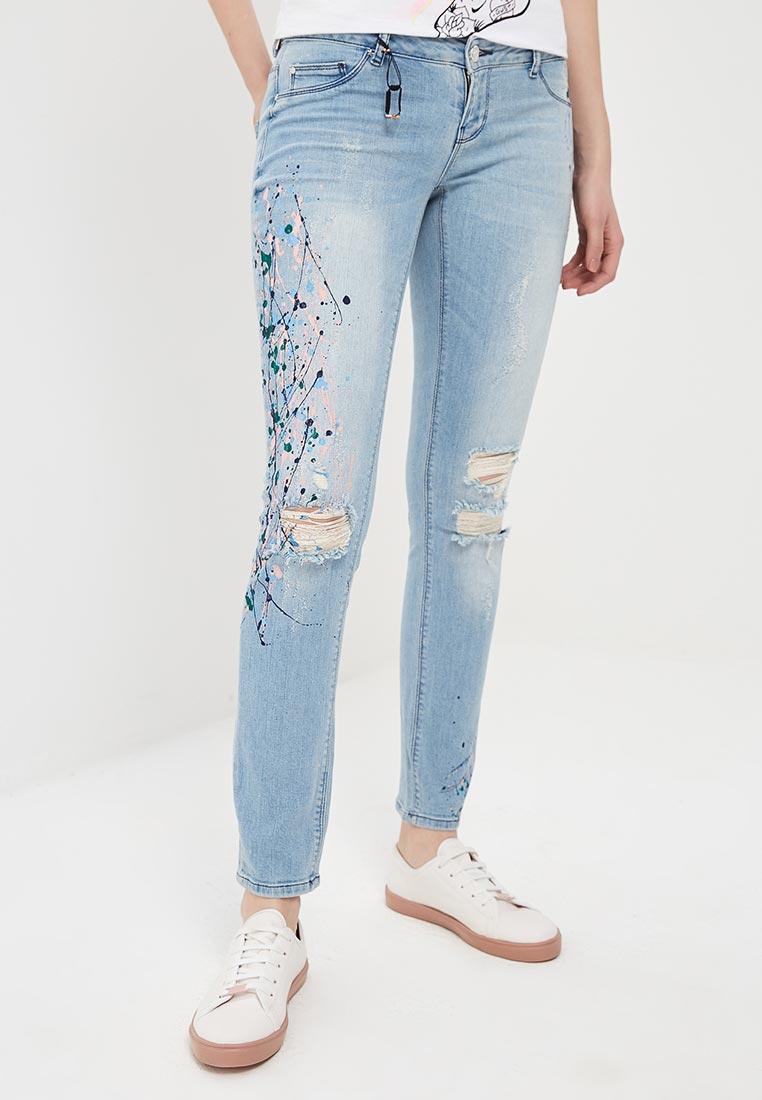 Зауженные джинсы Silvian Heach FCP16541JE