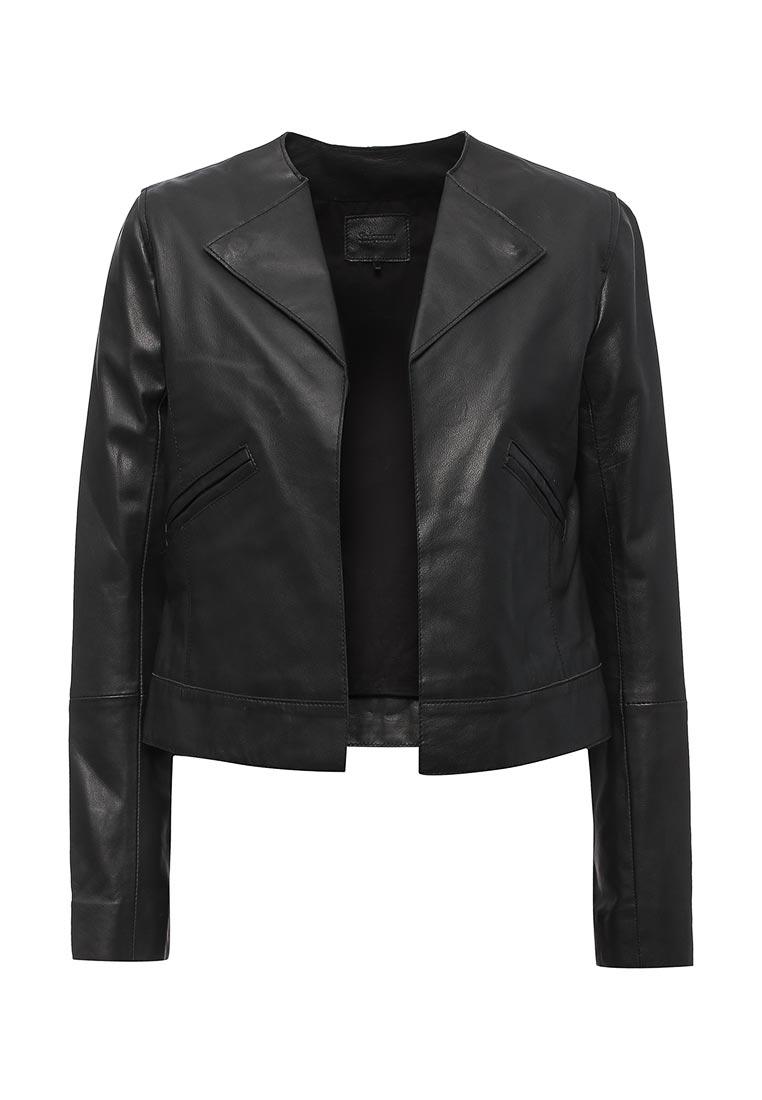 Кожаная куртка Sinequanone F000013-7096