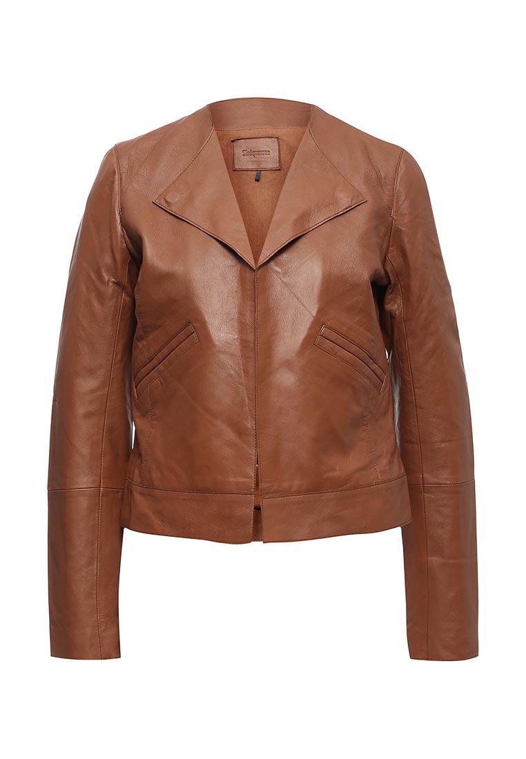 Кожаная куртка Sinequanone F000013-C057