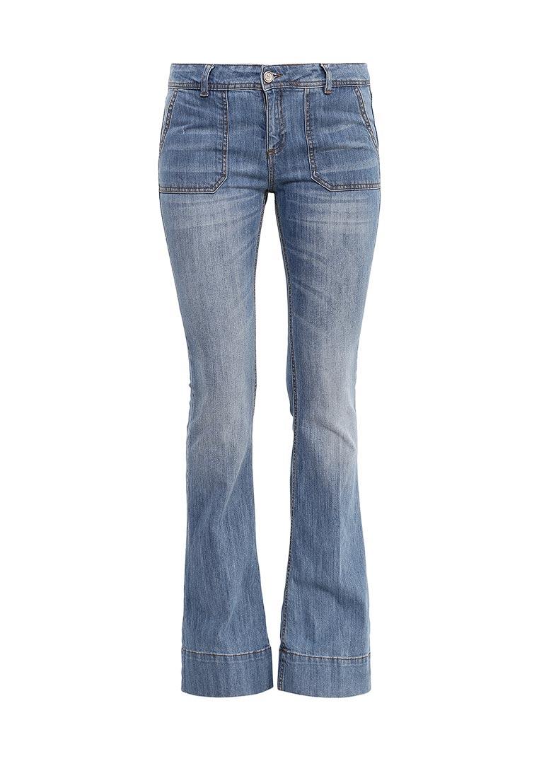 Широкие и расклешенные джинсы Sinequanone P001001-7398