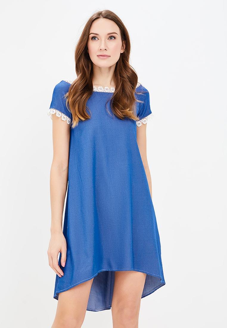 Платье SK House #2211-11726 C син.