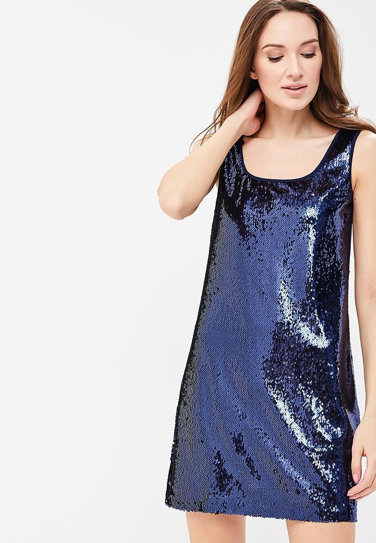 Платье SK House #2211-16534 син.